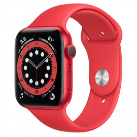 Apple Watch Series 6 44mm (PRODUCT)RED com Bracelete desportiva (PRODUCT)RED
